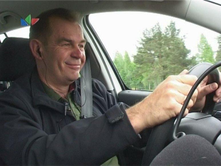 Laidos vedėjas Valdas Valiukevičius