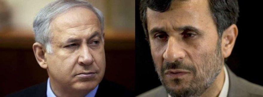B.Netanyahu ir M.Ahmadinejadas