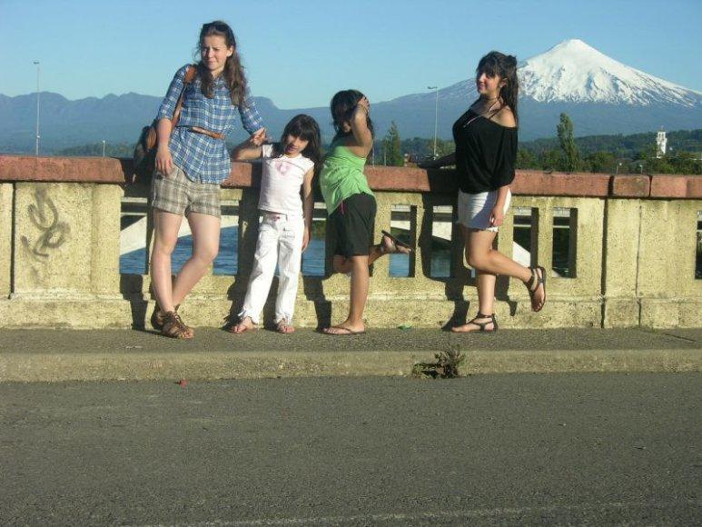Gintė Marija Gylytė ir jos draugai iš Čilės