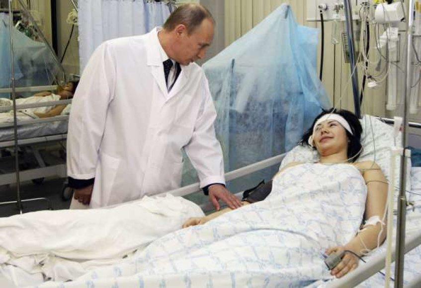 Rusijos premjeras Vladimiras Putinas
