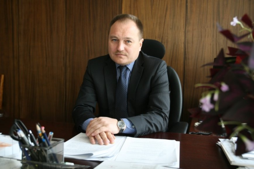 Aukščiausiojo teismo pirmininkas Gintaras Kryževičius
