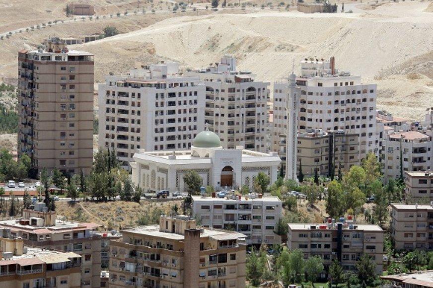 Akimirka iš gyvenimo Sirijoje