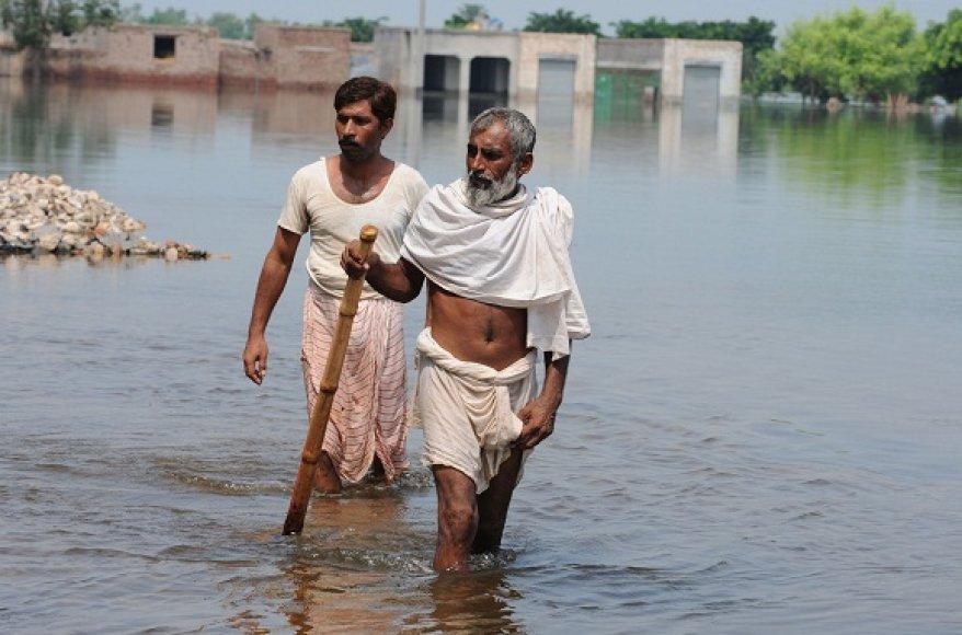 Potvynis Pakistane
