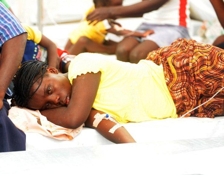 Choleros protrūkis Haityje