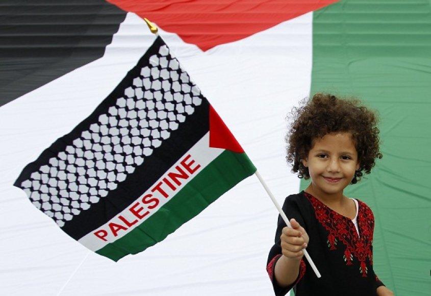 Palestinietė mergaitė