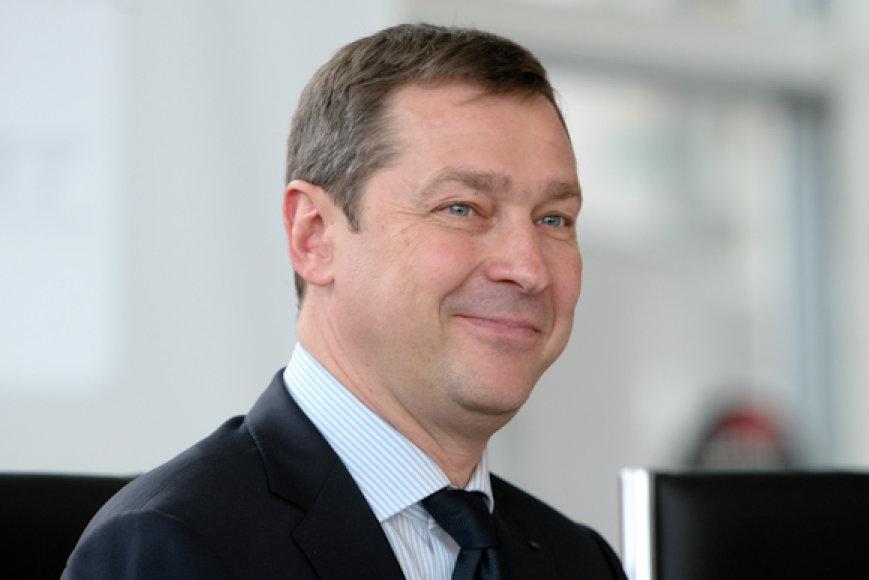 """Vilniaus meras ir VMFD """"Žalgiris"""" garbės prezidentasArtūras Zuokas"""