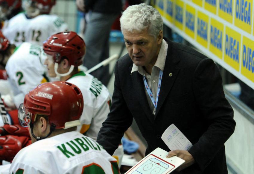 Lietuvos ledo ritulio rinktinės vyriausiasis treneris Sergejus Borisovas