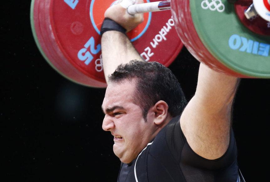 Olimpinis čempionas Behdadas Salimikordasiabis