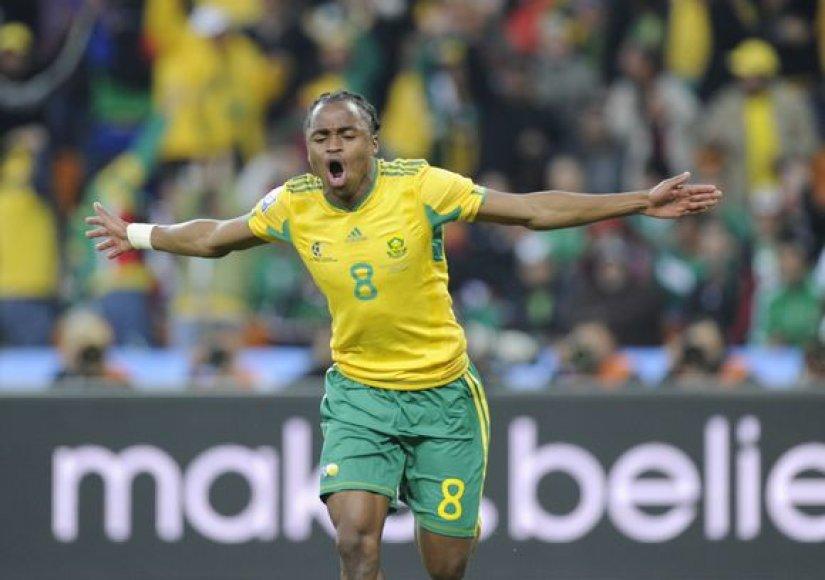 S.Tshabalala džiaugiasi įvarčiu