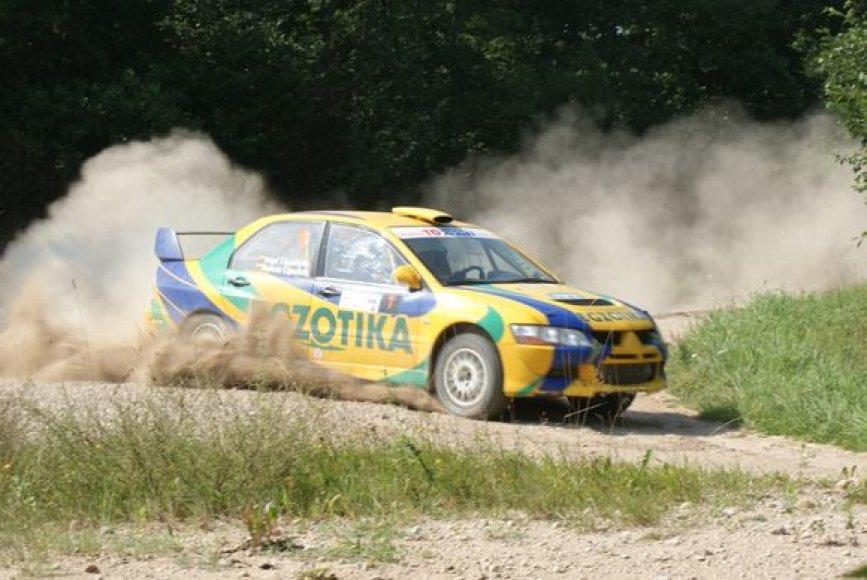 Antras bendrojoje įskaitoje finišavo R.Lipeikis