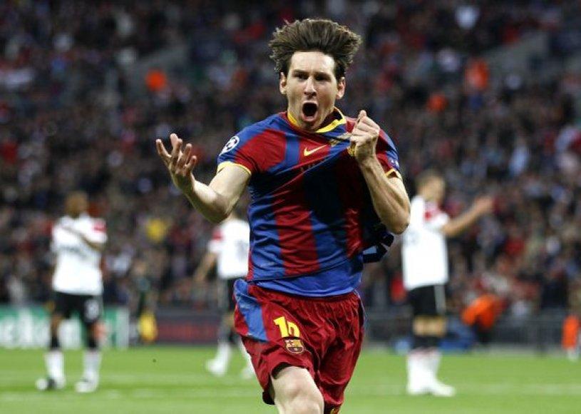 Lionelio Messi triumfas