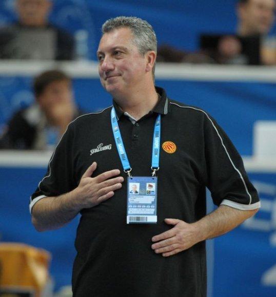 Makedonų treneris Marinas Dokužovskis