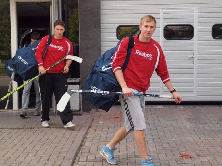A.Bosas ir E.Rybakovas (kairėje)