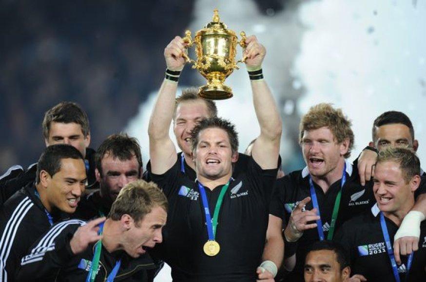 Naujosios Zelandijos regbininkų triumfas