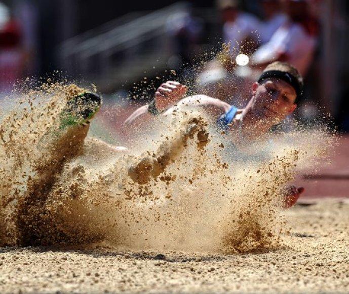 Nominanto tapti metų sporto fotografu – Alfredo Pliadžio – nuotrauka