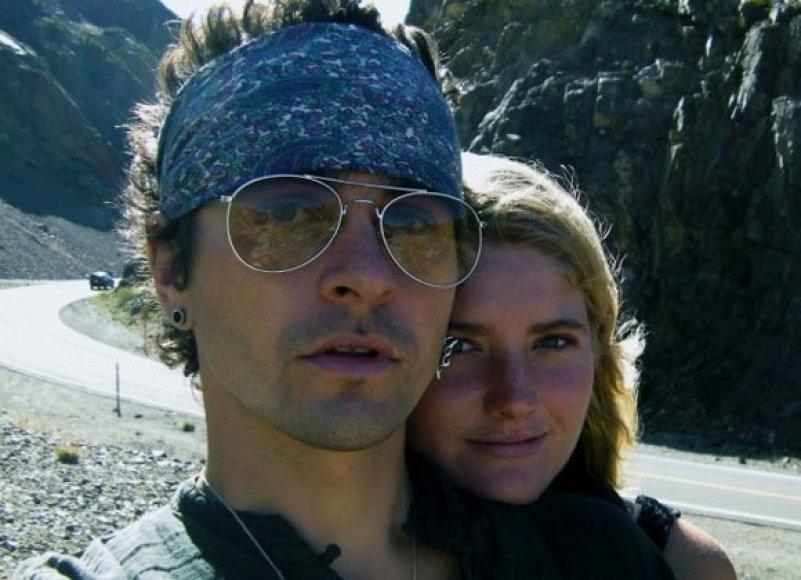 Hokšila Andradė su žmona