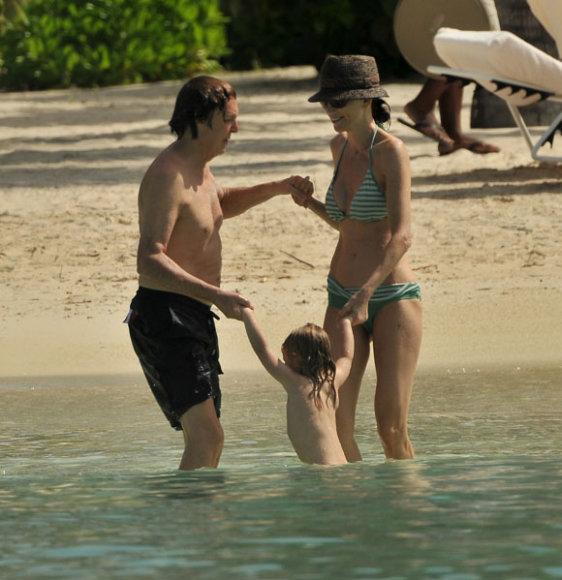 Paulas McCartney ir Nancy Shevel