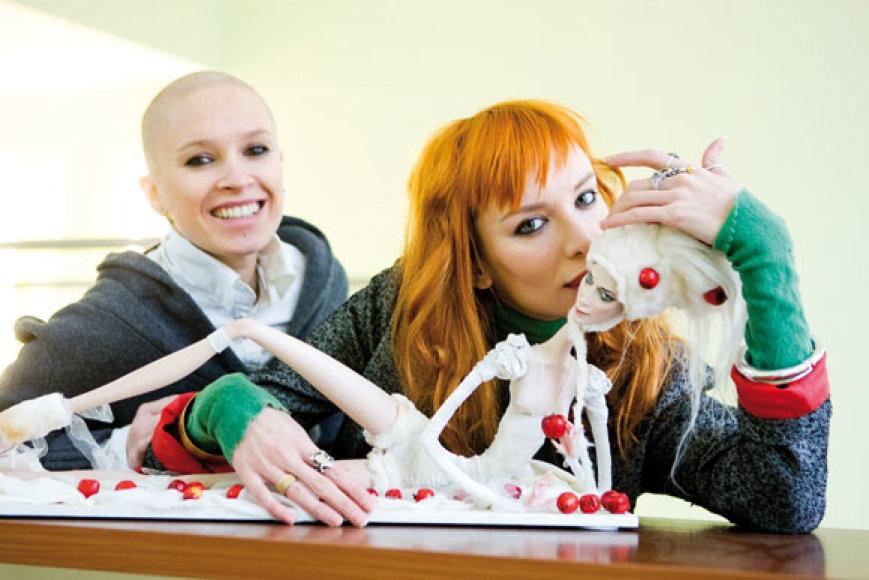 Julija Osina-Fridman ir Sasha Petrova