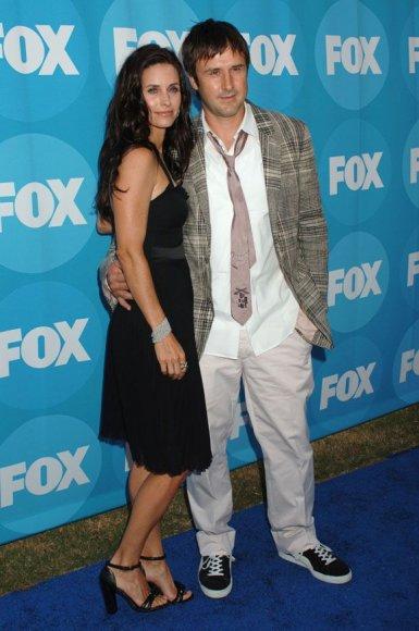 Courteney Cox su vyru Davidu Arquette'u