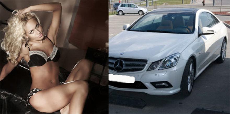 Oksana Pikul ir naujas jos mersas