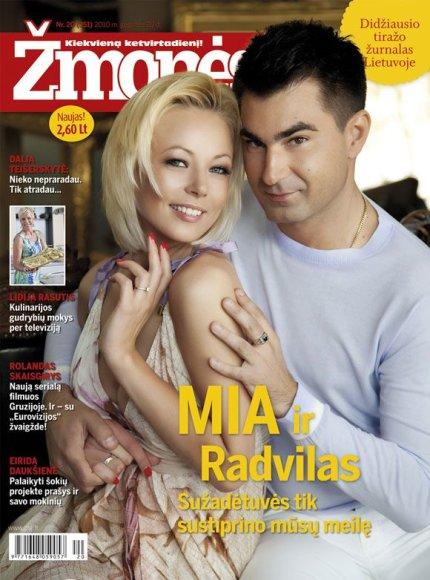 Vilija Pilibaitytė-Mia ir Radvilas Bubelis