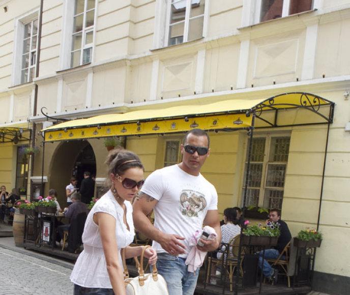 Andrejus Daščenka su nauja drauge