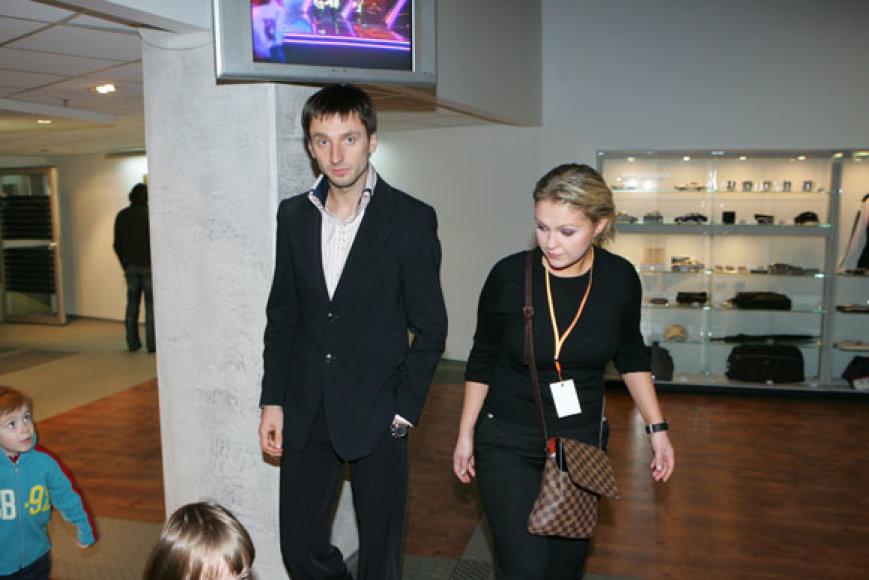 Agnė Armoškaitė-Šemberienė ir Deividas Šemberas