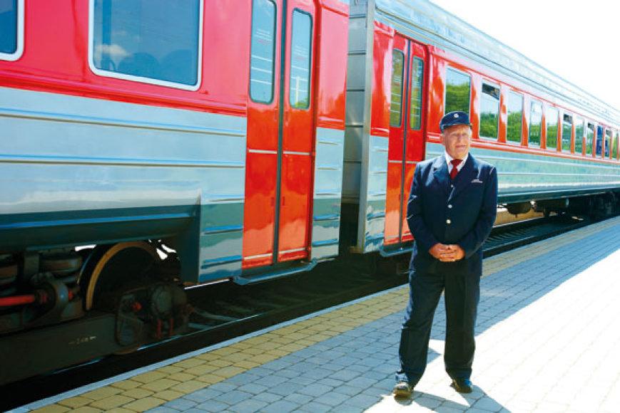 Serialas neįsivaizduojamas be legendinio geležinkelininko Jogailos, kurį įkūnijo aktorius Gediminas Girdvainis