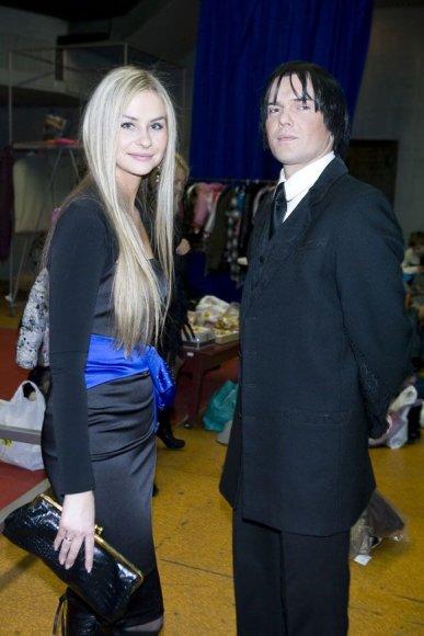 Gintaras Svistunavičius su žmona Jurga