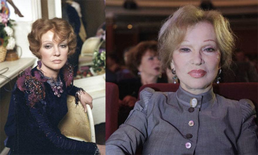 Liudmila Gurčenko anksčiau ir dabar