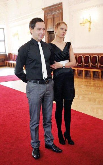 Aurimas Dautartas ir Viktorija Charlaškina