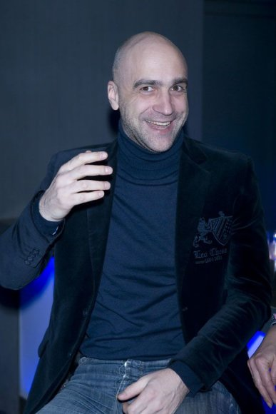 Televizijos laidų vedėjas Algis Ramanauskas-Greitai