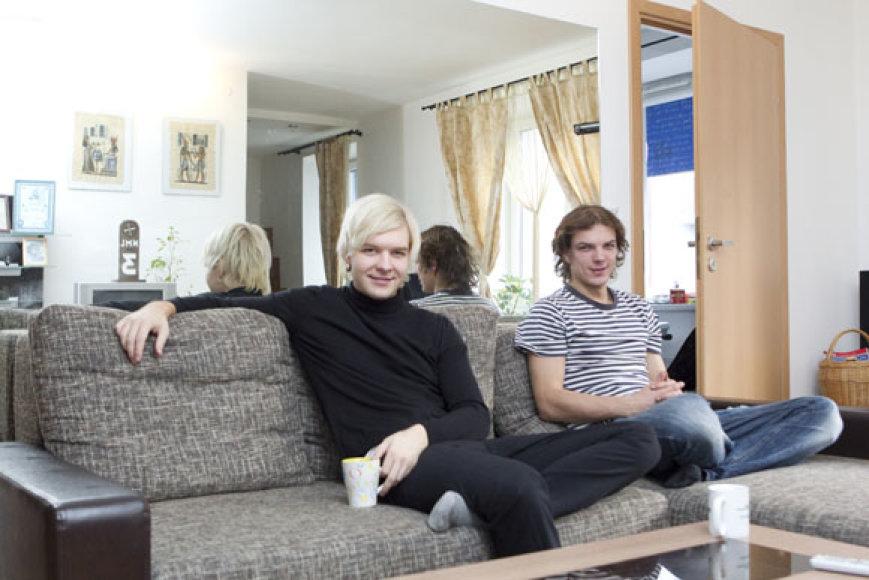 Arvydas Martinėnas-Vudis ir Algirdas Grudinskis-Grūdas