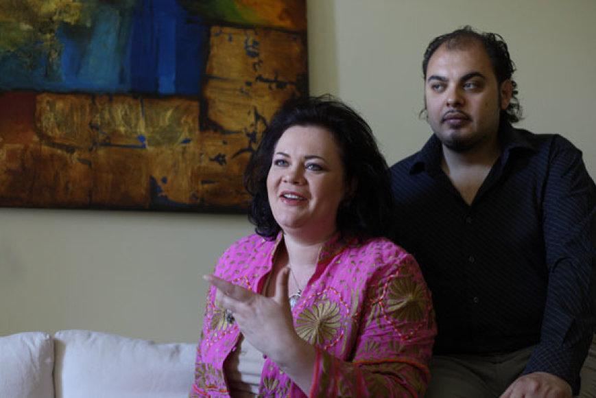 Violeta Urmanavičiūtė-Urmana ir Alfredo Nigro