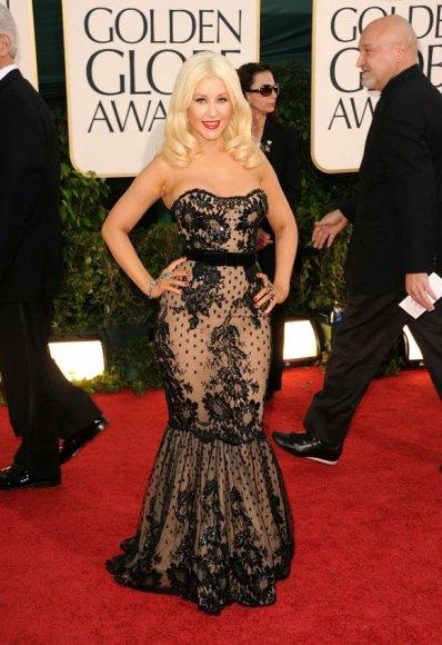 Christina Aguilera dabar