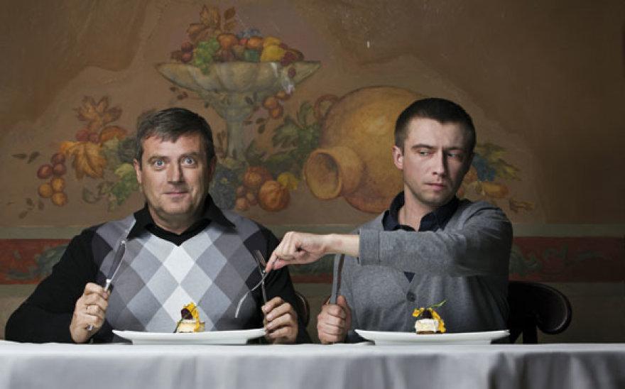 Robertas ir Marius Jampolskiai