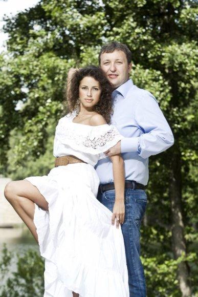 Antanas Guoga su Karina Jeremian