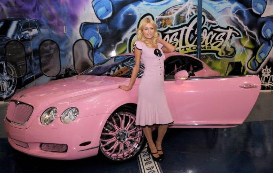 "Rožinis Paris Hilton ""Bentley"""