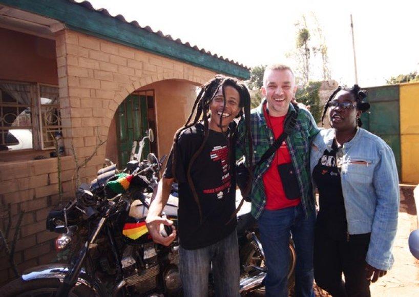 A.Mamontovo kelionės po Zambiją akimirka