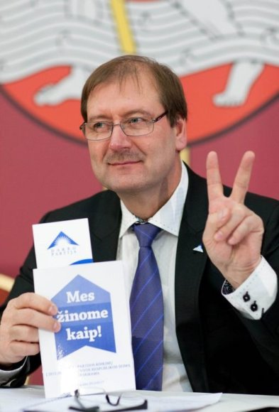 V.Uspaskichas į Seimą ketina kandidatuoti vienoje iš Vilniaus apygardų.