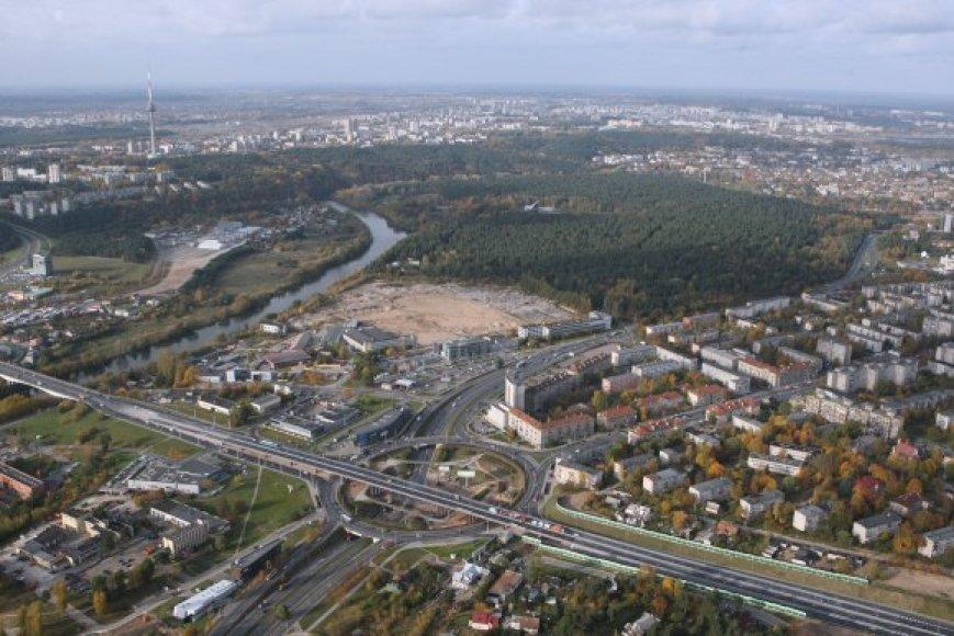 Žemės mokesčiai Vilniuje nuo kitų metų augs.