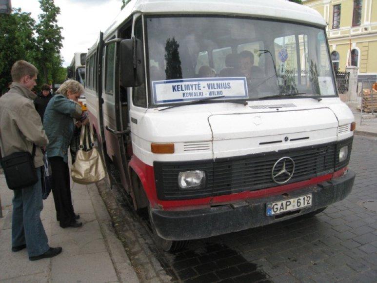 Kai kurių autobusų maršrutų pavadinimai lietuvių ir lenkų kalbomis atrodo visiškai skirtingi – tarkime, Kelmytė lenkų kalba vadinama Kowalki.