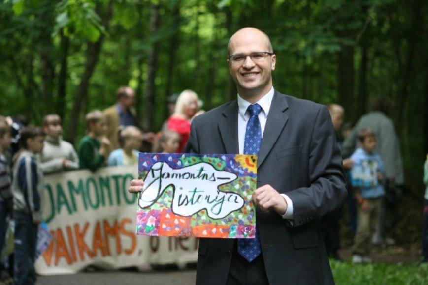 Pasak A.Nemunaičio, Baltupių bendruomenė bijo, kad bus nustumta į tą miško dalį, kuri nesutvarkyta.