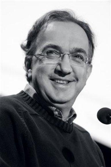 """Fiat Group"" vadovas Sergio Marchionne"