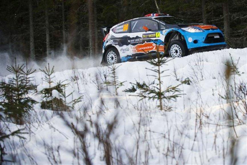 """Rally Sweden 2012"". ""Shakedown"" sesija"