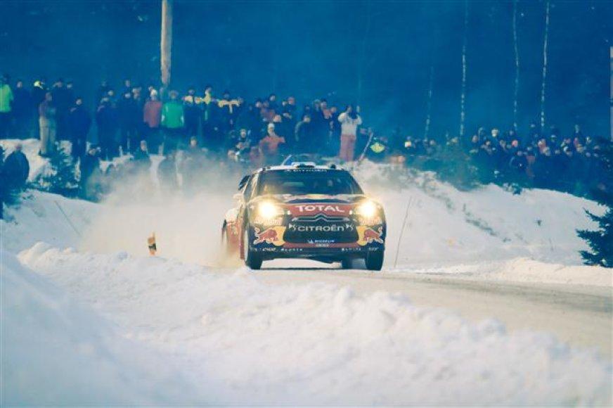 """""""Rally Sweden 2012"""" dienoraštis. Trečioji lenktynių diena su tramplinais!"""
