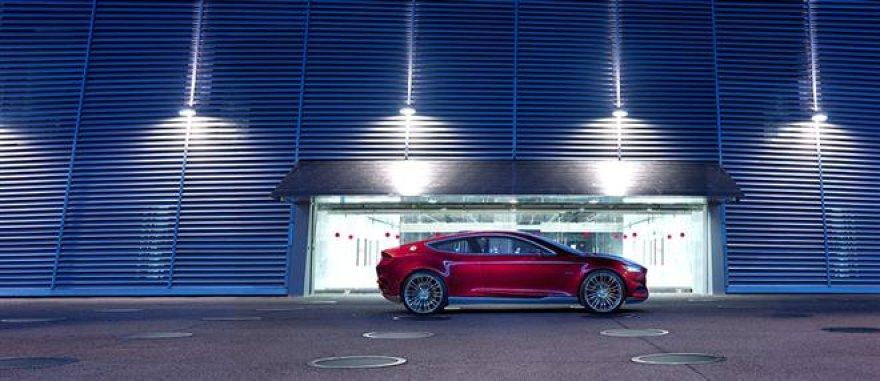 """Ford Evos"" koncepcija Ženevos parodai"