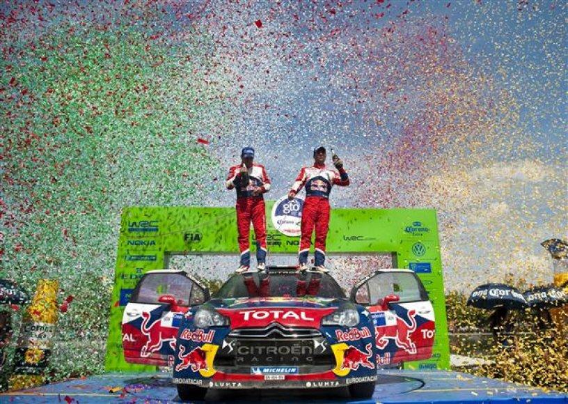 WRC Meksikos ralio nugalėtojas – Sebastienas Loebas