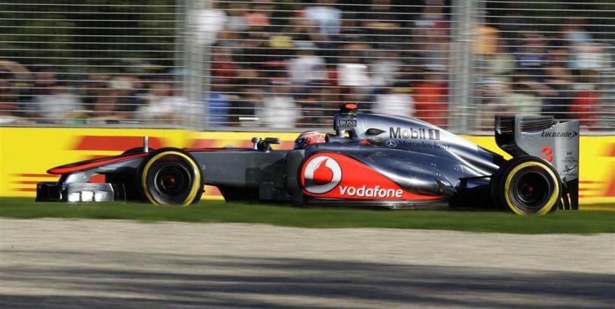 Autralijos GP kvalifikacijos akimirka