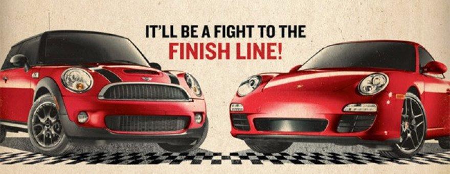 """Mini"" iššūkis ""Porsche"""